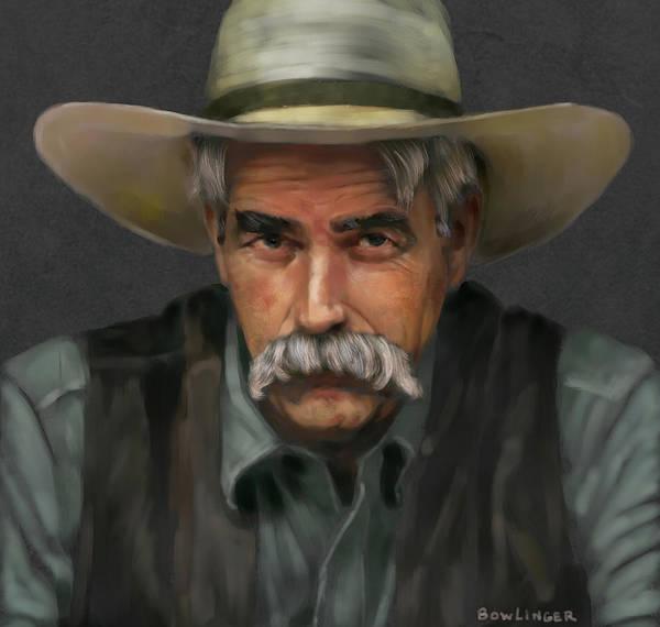 Elliott Digital Art - California Cowboy by Scott Bowlinger