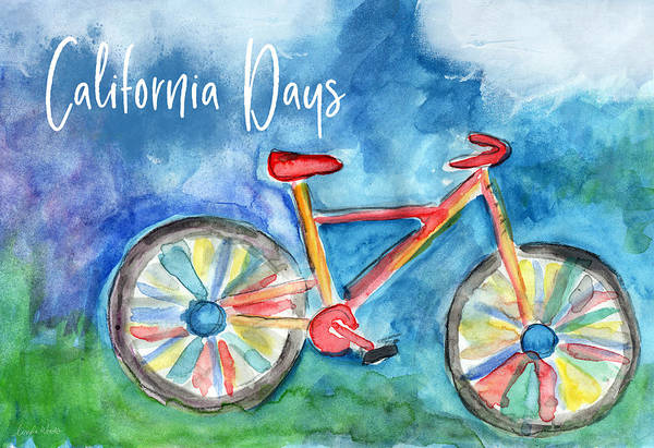 Wall Art - Painting - California Days - Art By Linda Woods by Linda Woods