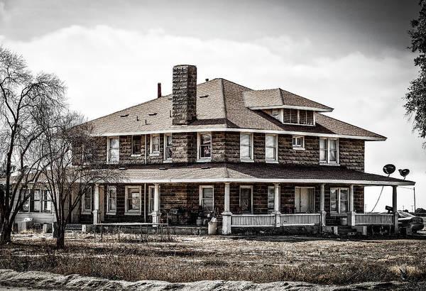 Photograph - California Farm House by Gene Parks