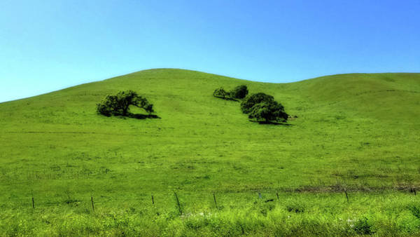 Photograph - California Hills by Eric Wiles
