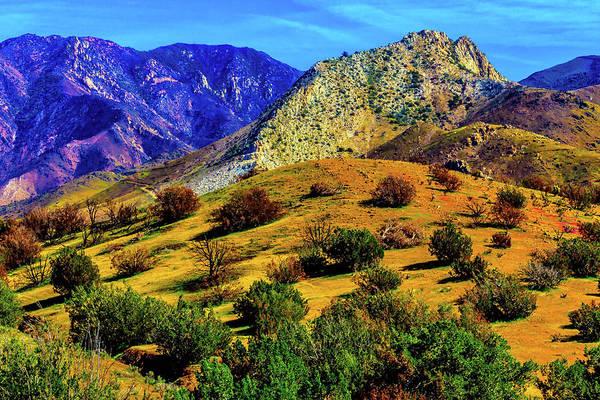California Poppy Photograph - California Hills by Garry Gay