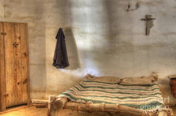 La Purisima Mission Photograph - California Mission La Purisima Private Quarters by Bob Christopher