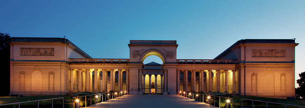 Legion Of Honor Photograph - California Palace Of The Legion Of Honor At Dusk by Mountain Dreams