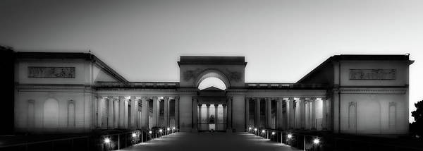 Legion Of Honor Photograph - California Palace Of The Legion Of Honor At Sunset by Mountain Dreams