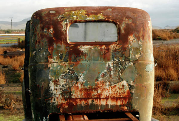California Rusted Truck Art Print