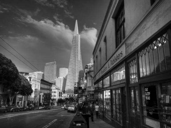 Photograph - California - San Francisco 009 Bw by Lance Vaughn