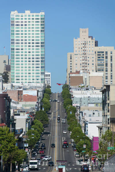 California Street San Francisco California 5d3295 Art Print
