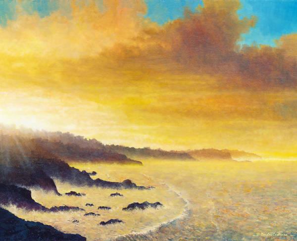 Painting - California Sunrise by Douglas Castleman