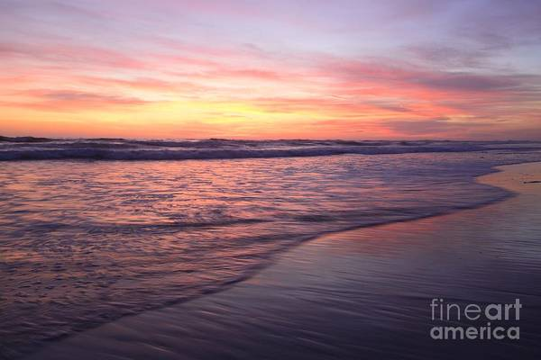 Photograph - California Waves  Print by John F Tsumas