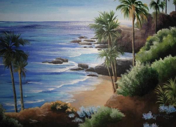 Laguna Beach Painting - California Winter by Barbara Gilroy