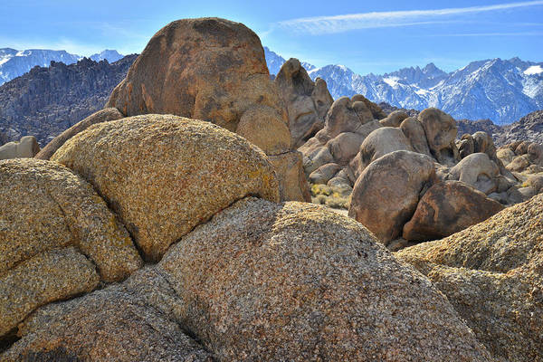 Photograph - California's Alabama Hills And Eastern Sierras by Ray Mathis