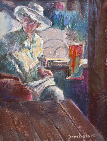 Pastel - Calistoga Morning by Ellen Dreibelbis