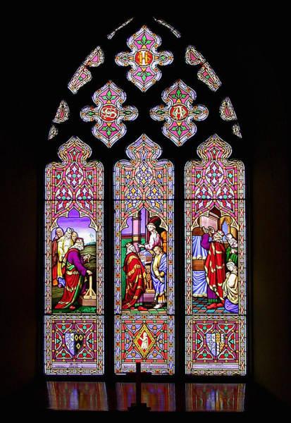 Glass Art -  Calke Abbey by Photographer Christine-Ann Martin