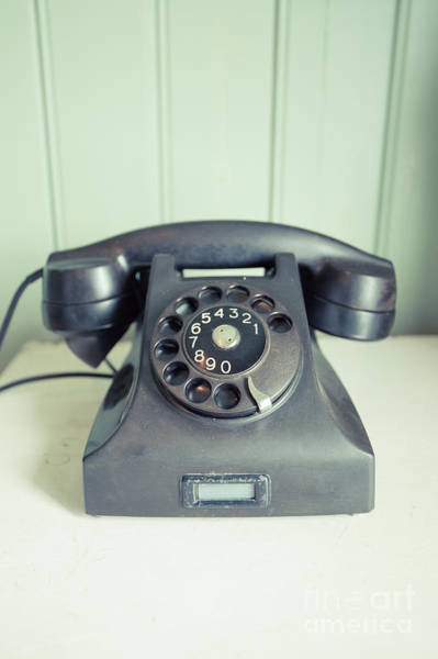 Photograph - Call Me Old Telephone by Edward Fielding