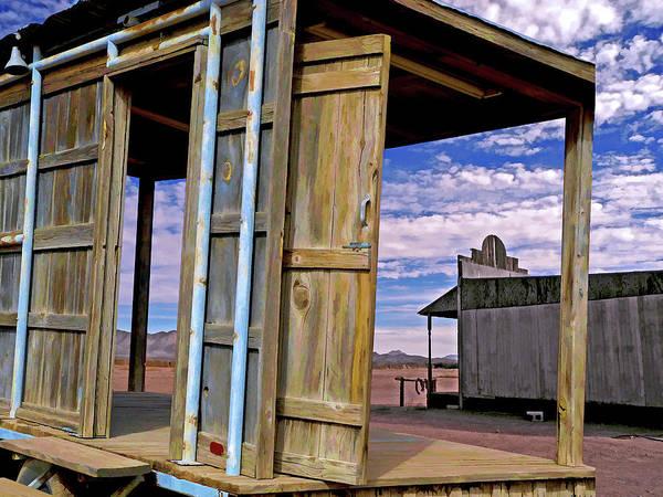 Mixed Media - Call Of The Lost Saloon 3  by Lynda Lehmann