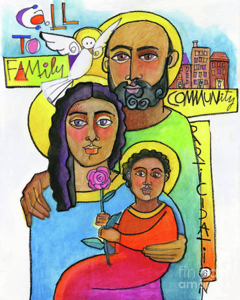 Painting - Call To Family And Community - Mmcfc by Br Mickey McGrath OSFS