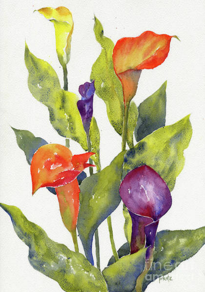 Painting - Calla Lilies by Pat Katz