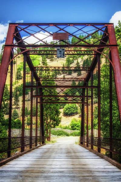 1851 Photograph - Callahan Red Bridge by Marnie Patchett