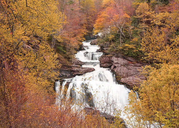 Photograph - Callasaja Falls- North Carolina 2 by Penny Lisowski