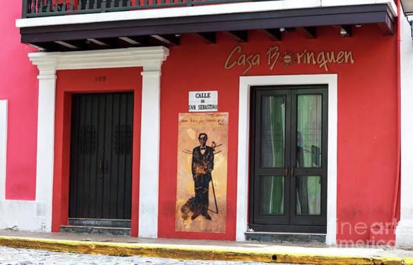 Calle Wall Art - Photograph - Calle De San Sebastian San Juan by John Rizzuto