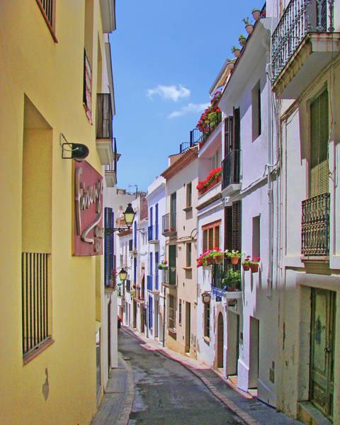 Wall Art - Photograph - Calle - Sitges - Spain by Nikolyn McDonald