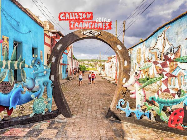 Photograph - Callejon Delas Tradiciones by Robin Zygelman