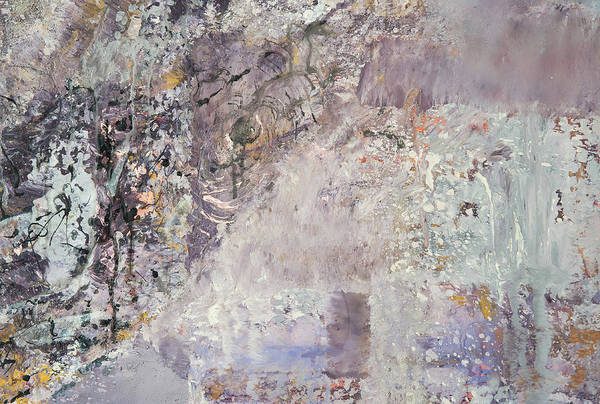 Painting - Calling Universe. Fragment 1 by Anna Skorko