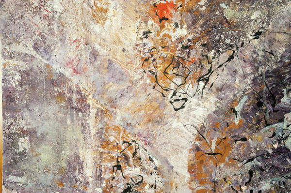 Painting - Calling Universe. Fragment 5 by Anna Skorko