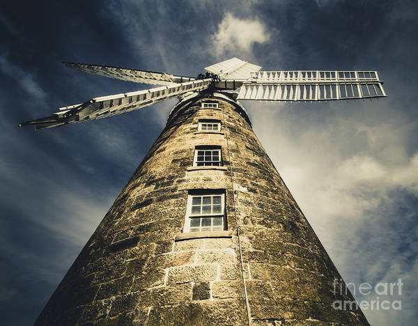 Georgian Photograph - Callington Mill In Oatlands Tasmania by Jorgo Photography - Wall Art Gallery