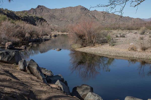 Photograph - Calm Along The Salt River by Teresa Wilson