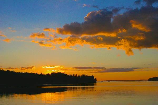 Photograph - Calm As The Sun Goes Down by Polly Castor