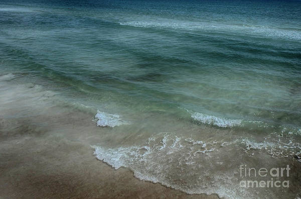 Photograph - Calm Atlantic Surf by Judy Hall-Folde