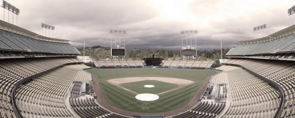 Stadium Photograph - Calm Before The Blue Storrm by Esteban Ramirez
