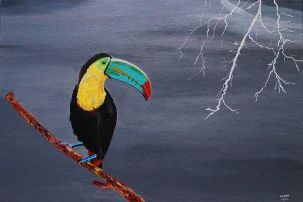 Lightening Painting - Calm Before The Storm by Kirtana Suri