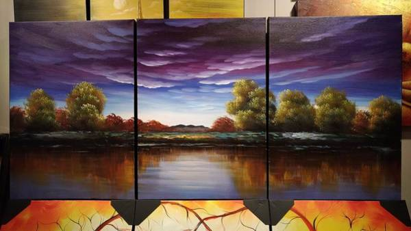 Mojo Painting - Calm Before The Storm by Studio Mojo Artwork Canada