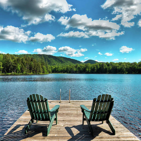 Photograph - Calm In The Adirondacks by David Patterson