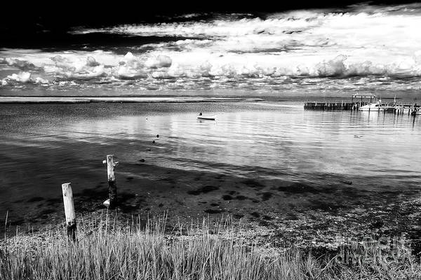 Photograph - Calm On The Bay At Long Beach Island by John Rizzuto