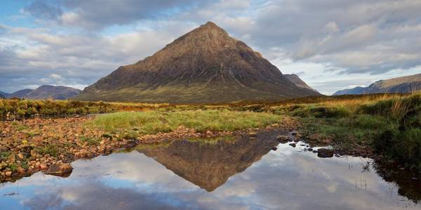 Photograph - Calm Reflections Of Stob Dearg by Stephen Taylor