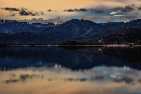 Sun Set Photograph - Calm Reflections by Marnie Patchett