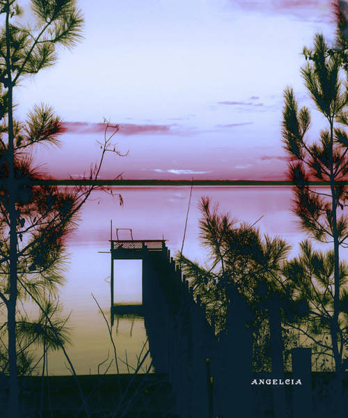 Photograph - Calm River by Angelcia Wright