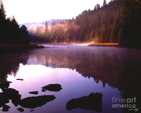 Truckee River Photograph - Calm River by Vance Fox