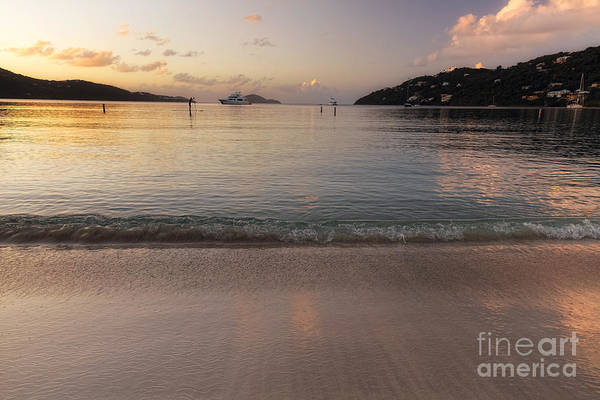 Wall Art - Photograph - Calm Sandy Beach At Sunset by George Oze
