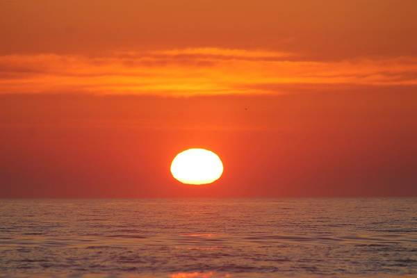 Calm Seas Sunrise Art Print