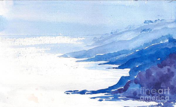 Painting - Calm Seascape by Asha Sudhaker Shenoy