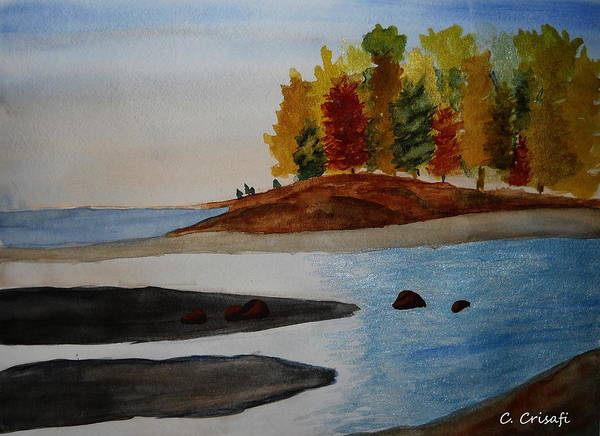 Painting - Calm Tide by Carol Crisafi
