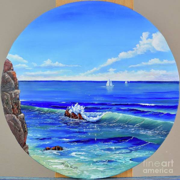 Painting - Calm Tide by Mary Scott