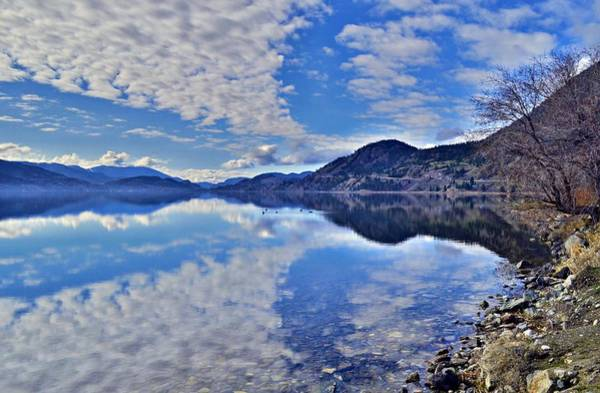 Photograph - Calm Waters At Skaha Lake Along The Kvr Trail by Tara Turner