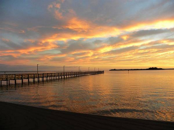 Sunset Wall Art - Photograph - Calm Waters by Ric Schafer