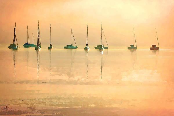 Digital Art - Calm Waters by Shelli Fitzpatrick