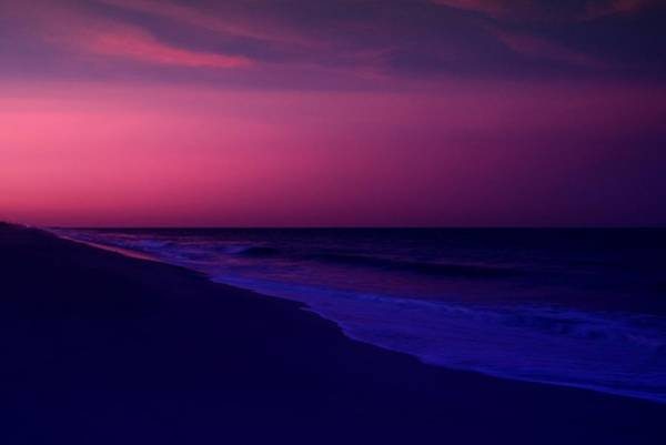 Photograph - Calming Conclusion - Jersey Shore by Angie Tirado